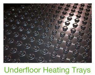 Underfloor Heating Panels In Recycled Plastic