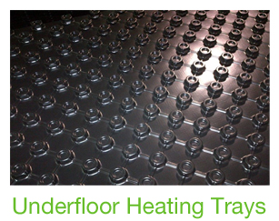Underfloor Heating Panels In Recycled Plastic